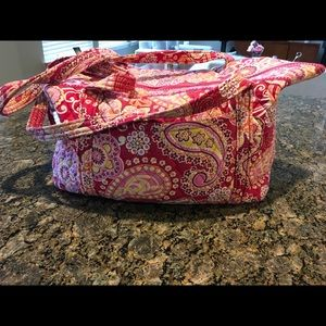 Vera Bradley travel bag in pink paisley